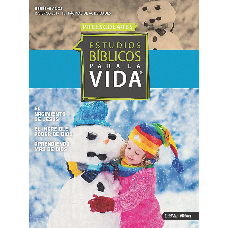 Estudios Bíblicos para la Vida: Páginas de Actividades Preescolares ...