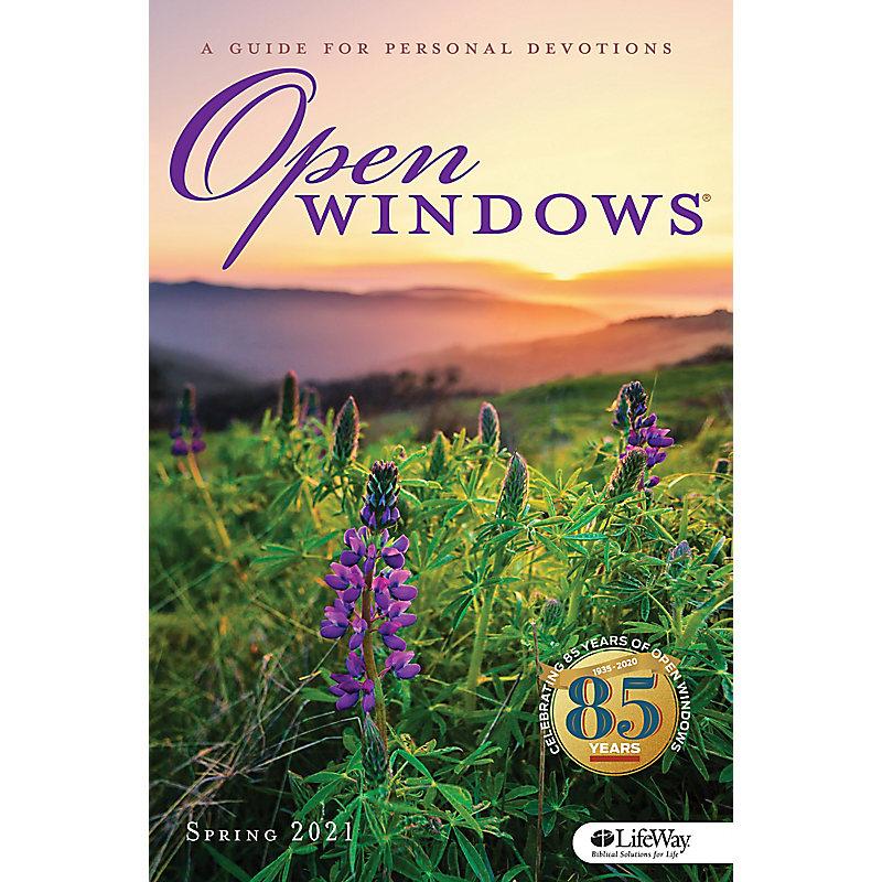 Open Windows Large Print - Spring 2021