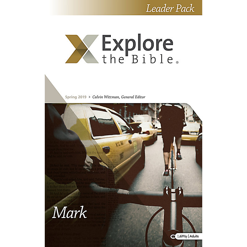 Explore the Bible: Adult Leader Pack - Spring 2019