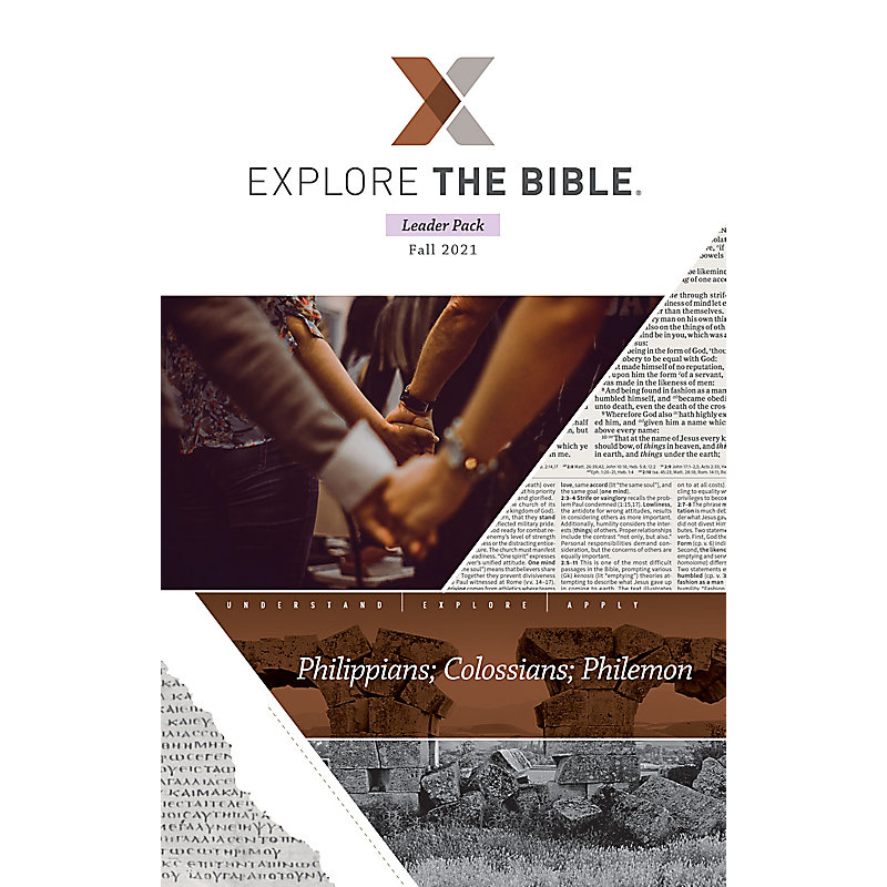 Explore the Bible: Adult Leader Pack - Fall 2021