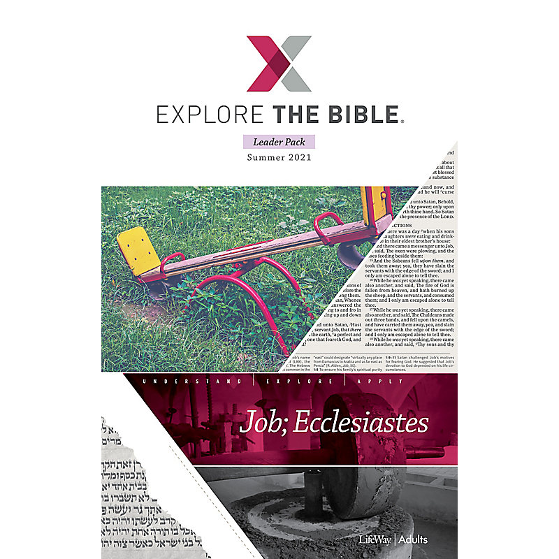 Explore the Bible: Adult Leader Pack - Summer 2021