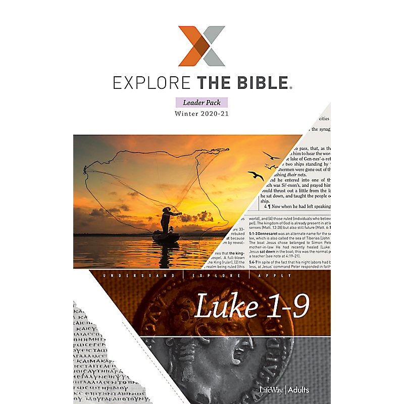 Explore the Bible: Adult Leader Pack - Winter 2021