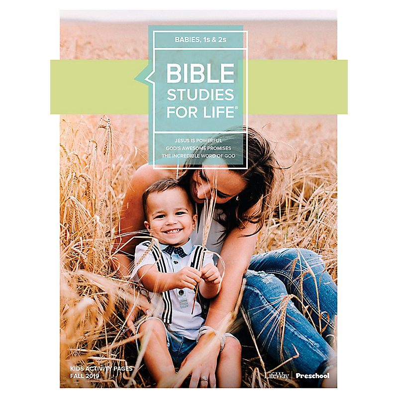 Bible Studies For Life: Babies, 1s & 2s Activity Pages Fall 2019