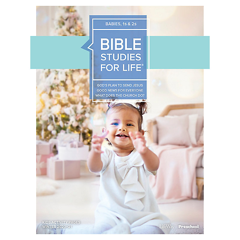 Bible Studies for Life: Babies, 1s and 2s Activity Pages Winter 2021