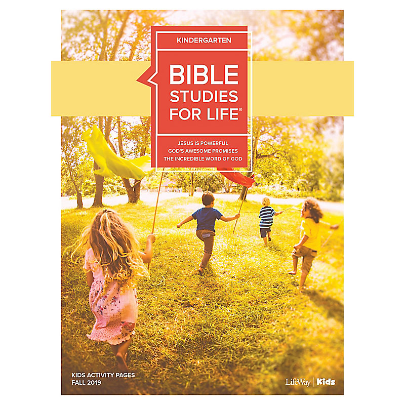 Bible Studies For Life: Kindergarten Activity Pages Fall 2019