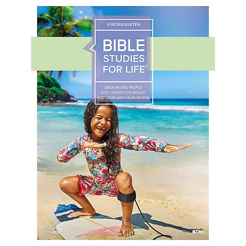 Bible Studies For Life: Kindergarten Activity Pages Summer 2021