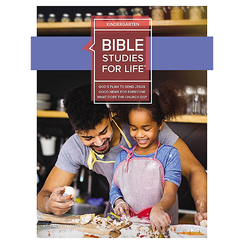 Bible Studies for Life: Kindergarten Activity Pages Winter 2021