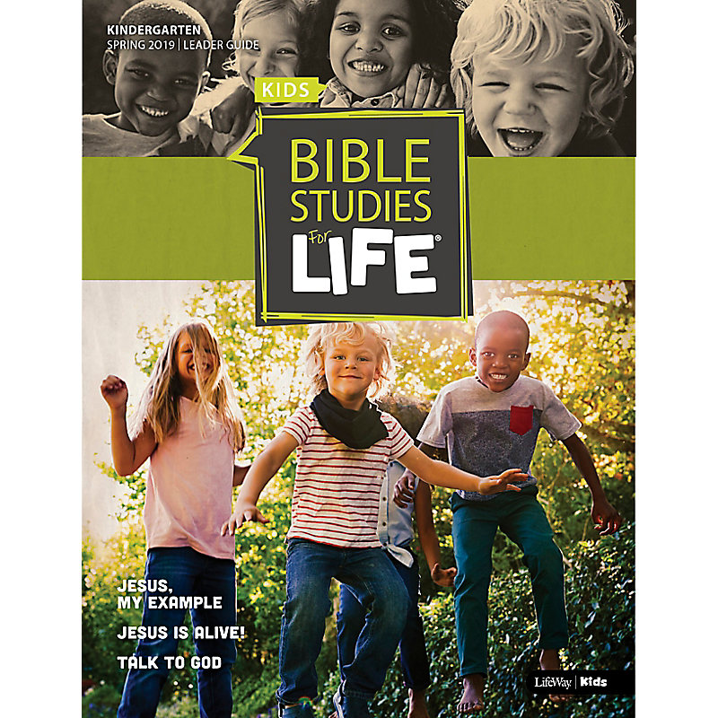 Bible Studies For Life: Kindergarten Leader Guide Spring 2019
