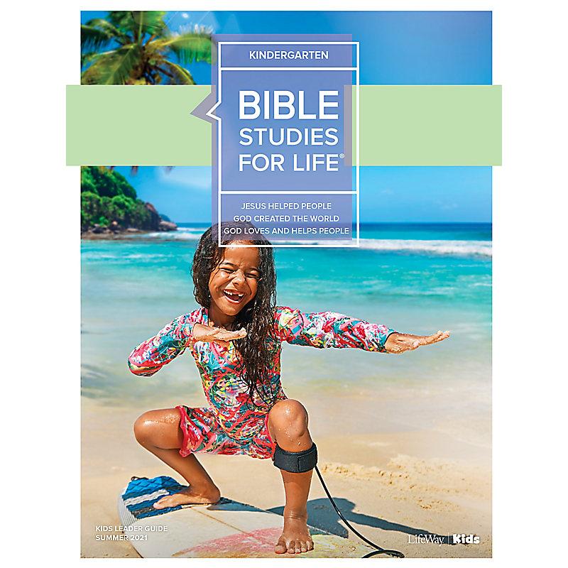 Bible Studies For Life: Kindergarten Leader Guide Summer 2021
