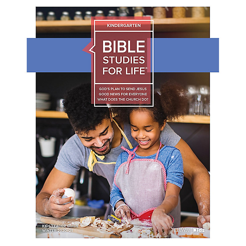 Bible Studies for Life: Kindergarten Leader Guide Winter 2021