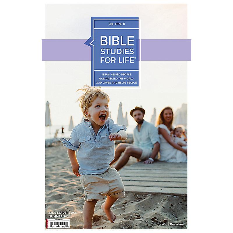Bible Studies For Life: 3s–Pre-K Leader Pack Summer 2021