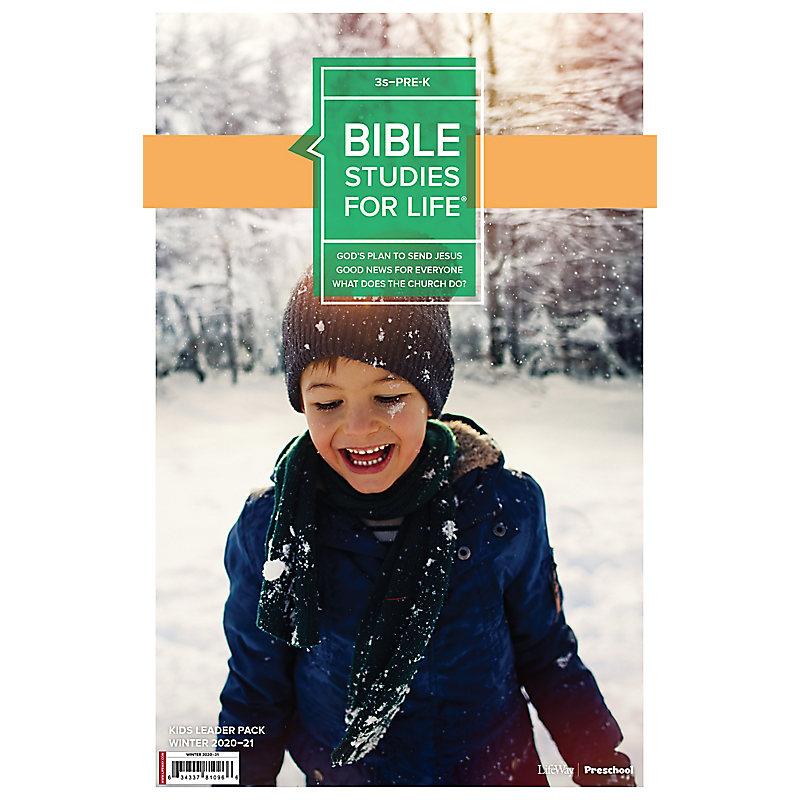 Bible Studies for Life: 3s–Pre-K Leader Pack Winter 2021