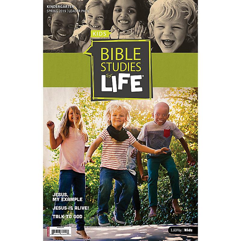 Bible Studies For Life: Kindergarten Leader Pack Spring 2019