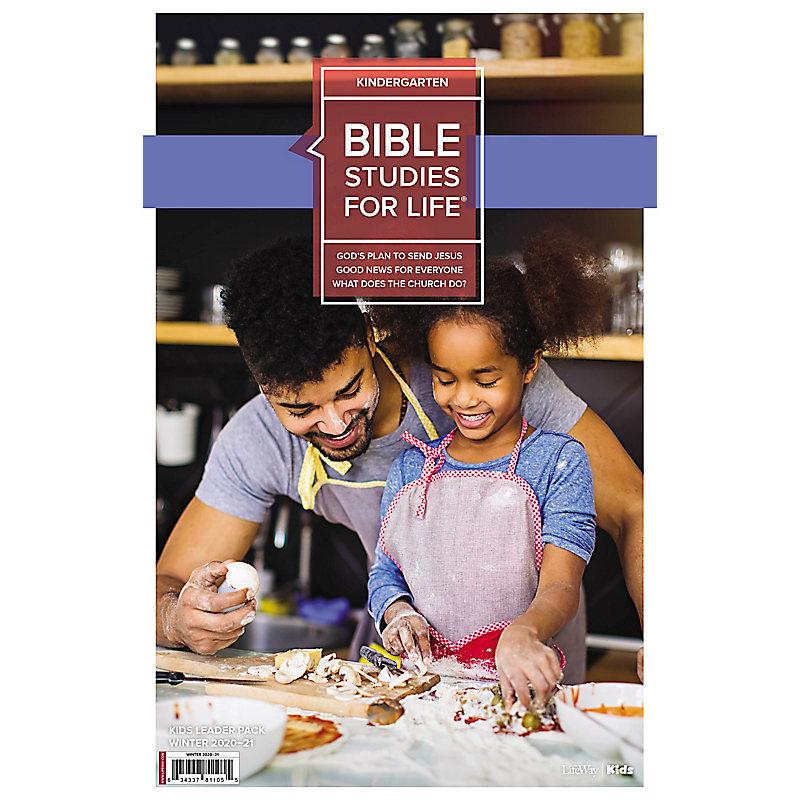 Bible Studies for Life: Kindergarten Leader Pack Winter 2021