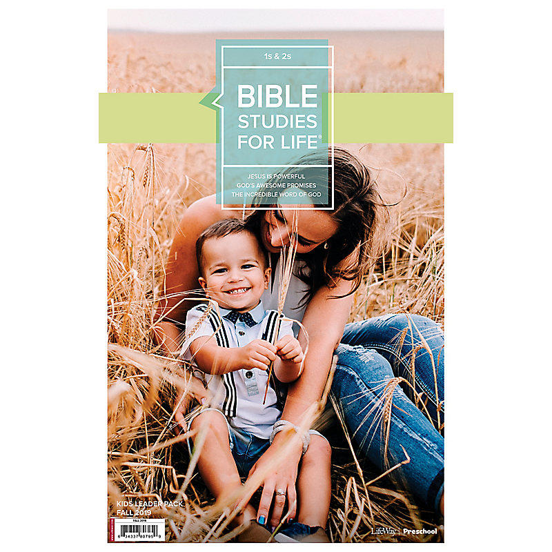 Bible Studies For Life: 1s & 2s Leader Pack Fall 2019