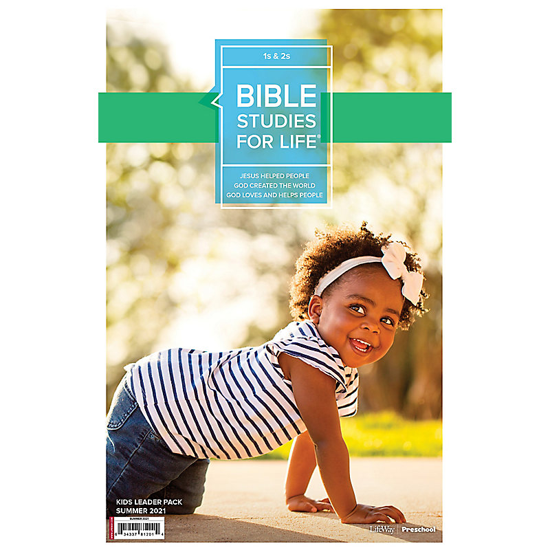 Bible Studies For Life: 1s & 2s Leader Pack Summer 2021