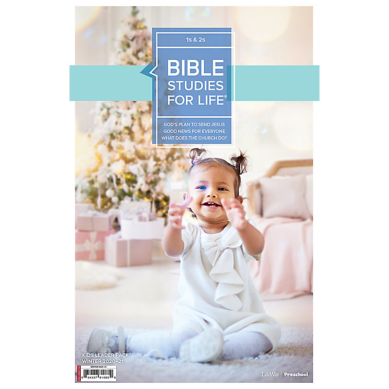 Bible Studies for Life: 1s and 2s Leader Pack Winter 2021