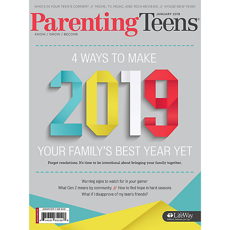 Parenting Teens  - January 2019