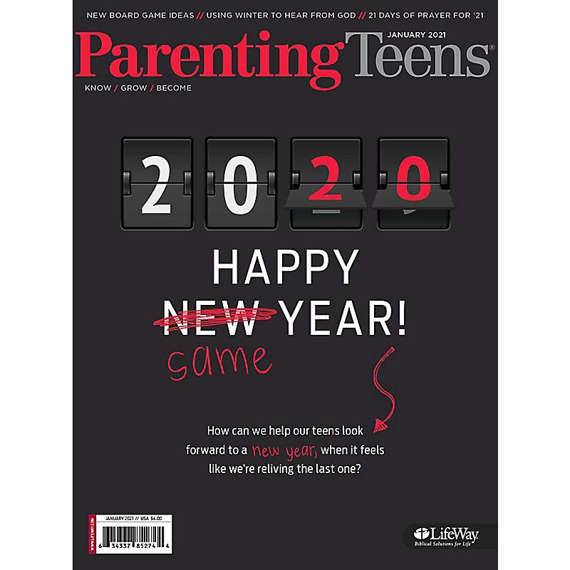Parenting Teens - January 2021