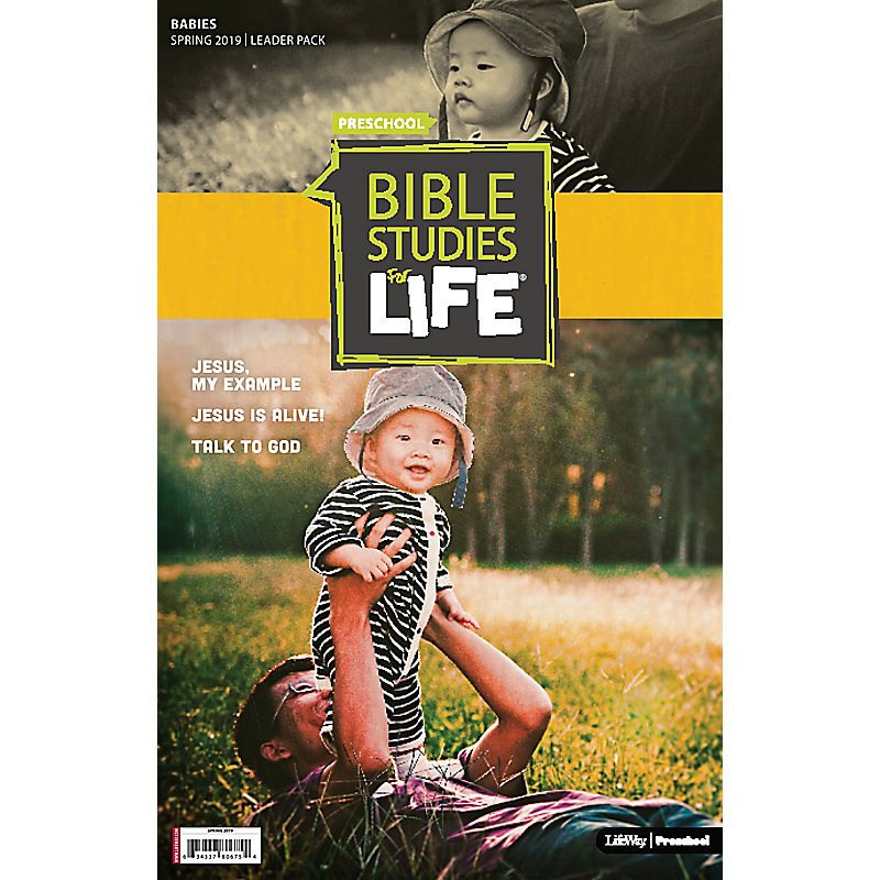 Bible Studies For Life: Babies Leader Pack Spring 2019