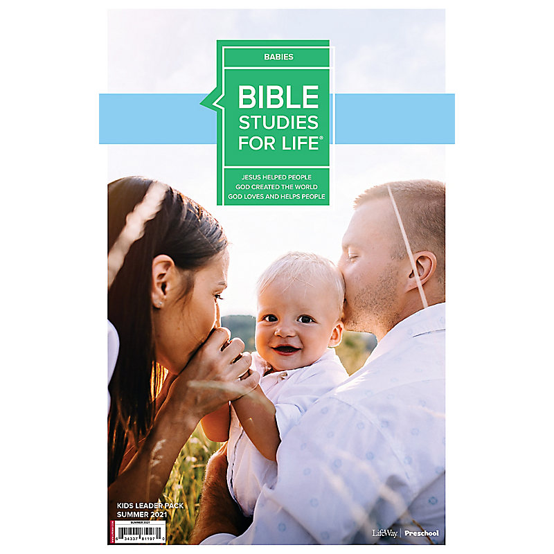 Bible Studies For Life: Babies Leader Pack Summer 2021