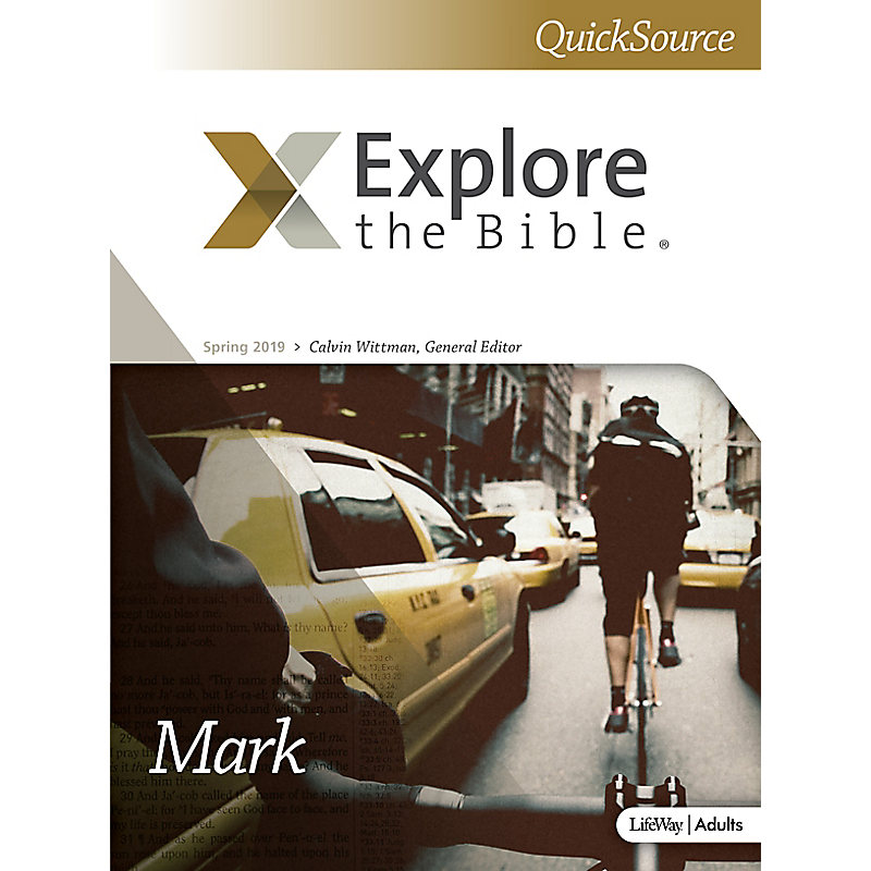 Explore The Bible: Adult Leader QuickSource - Spring 2019