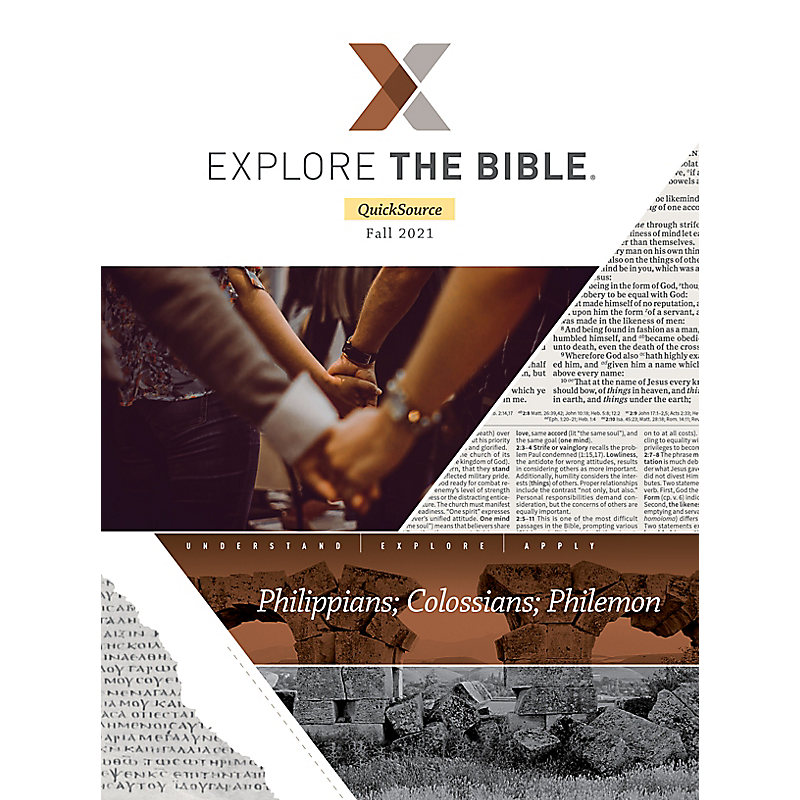Explore The Bible: Adult Leader QuickSource - Fall 2021