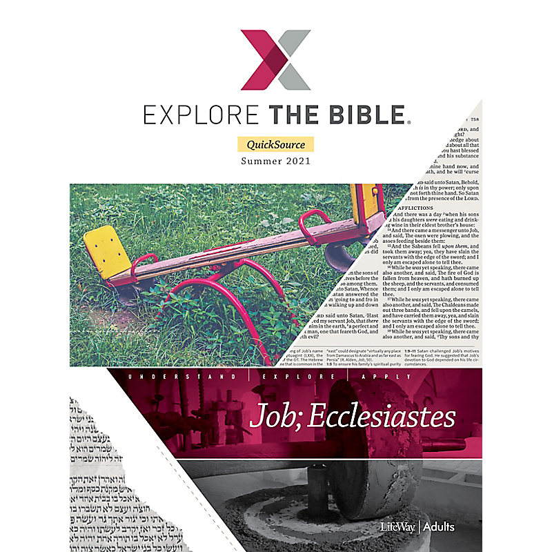 Explore The Bible: Adult Leader QuickSource - Summer 2021