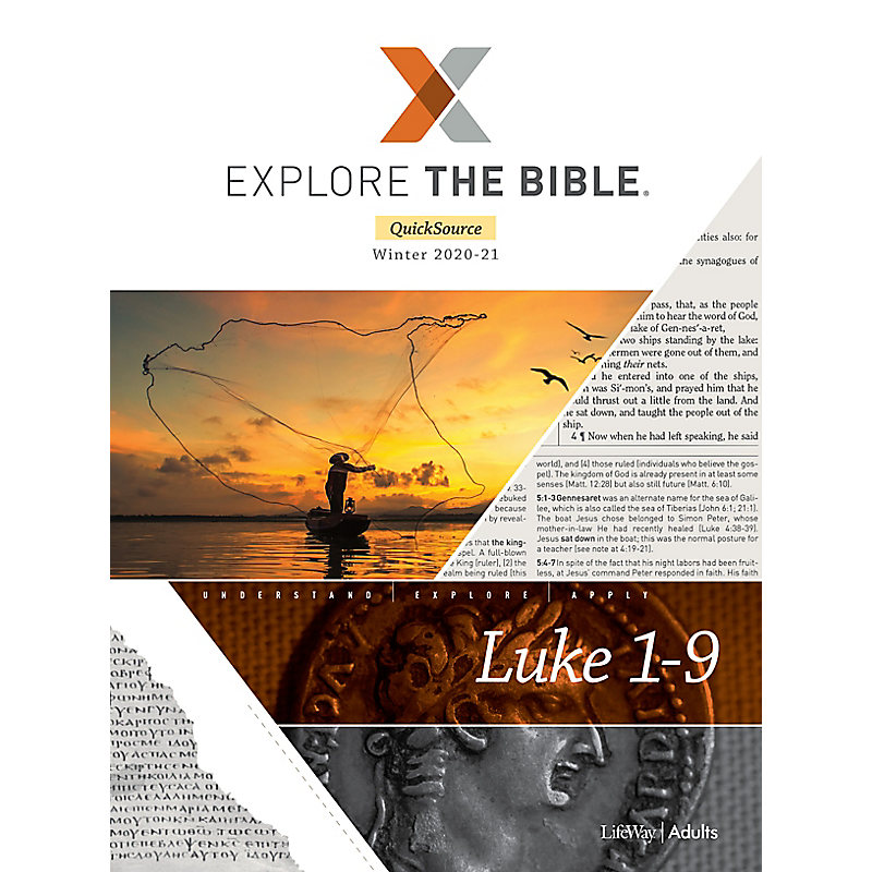 Explore the Bible: Adult Leader QuickSource - Winter 2021