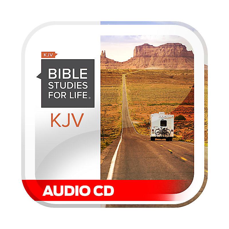 Bible Studies for Life: KJV Adult Audio CD - Summer 2021