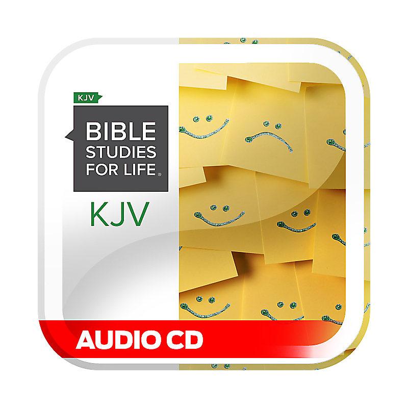 Bible Studies for Life: KJV Adult Audio CD - Winter 2021