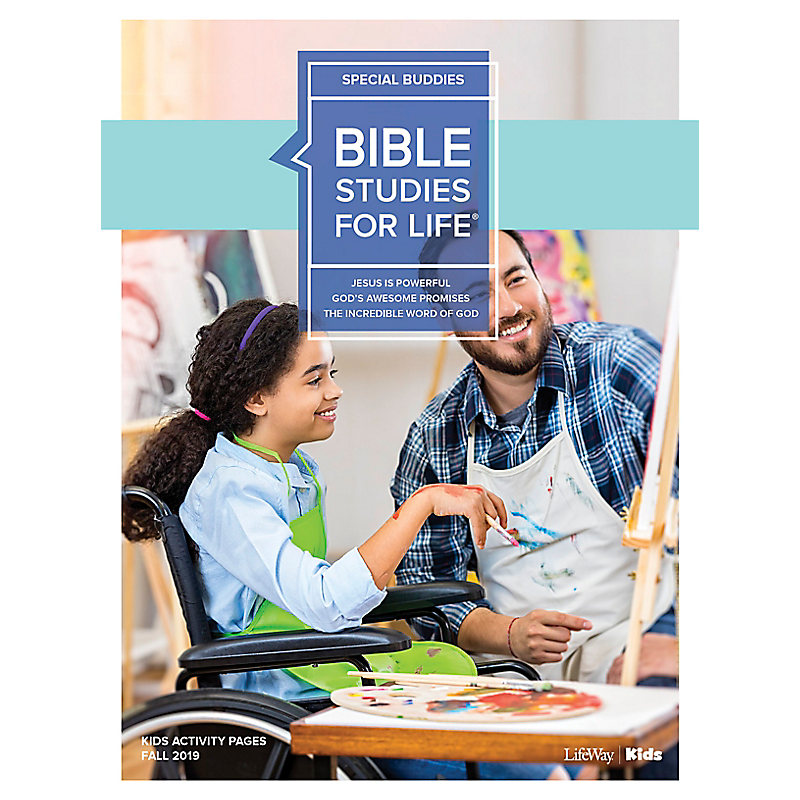 Bible Studies For Life: Kids Special Buddies Kids Activity Pages Fall 2019