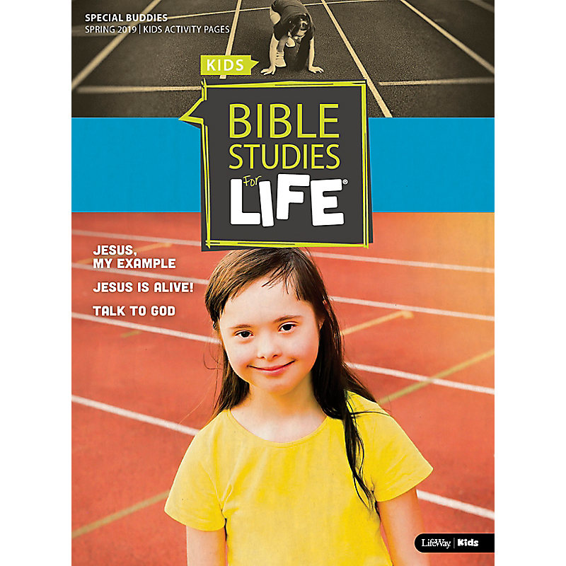 Bible Studies For Life: Kids Special Buddies Kids Activity Pages Spring 2019