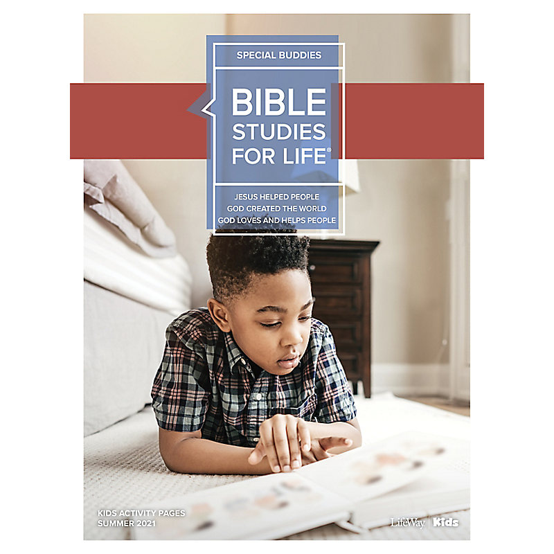 Bible Studies For Life: Kids Special Buddies Kids Activity Pages Summer 2021