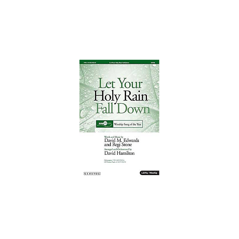 Let Your Holy Rain Fall Down - SATB Anthem (Min. 10)