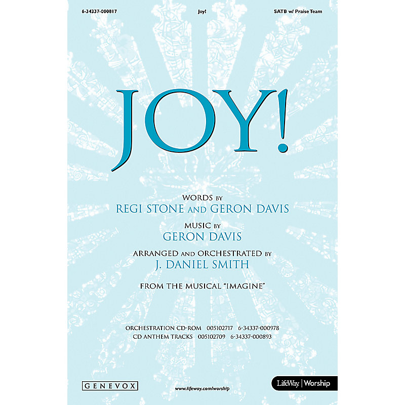 Joy! - SATB Anthem w/ Praise Team (Min. 10)