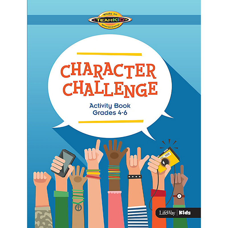TeamKID: Character Challenge - Activity Book for Grades 4-6