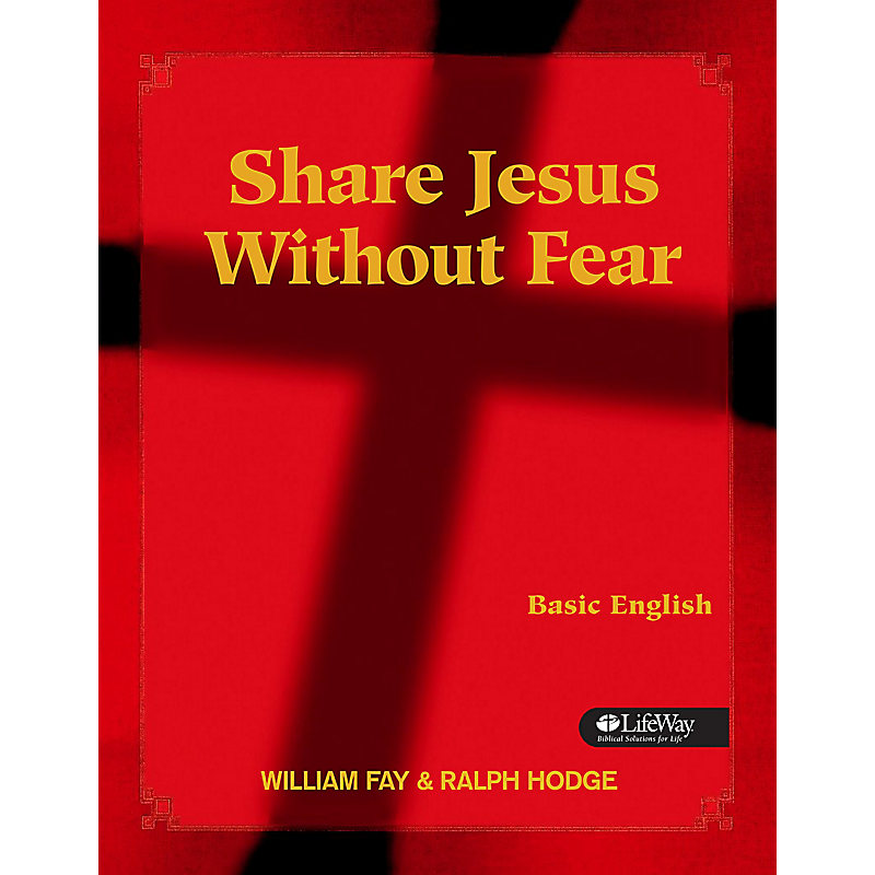 Share Jesus Without Fear - Basic English Member Book