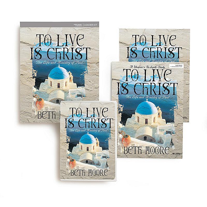To Live Is Christ - Leader Kit