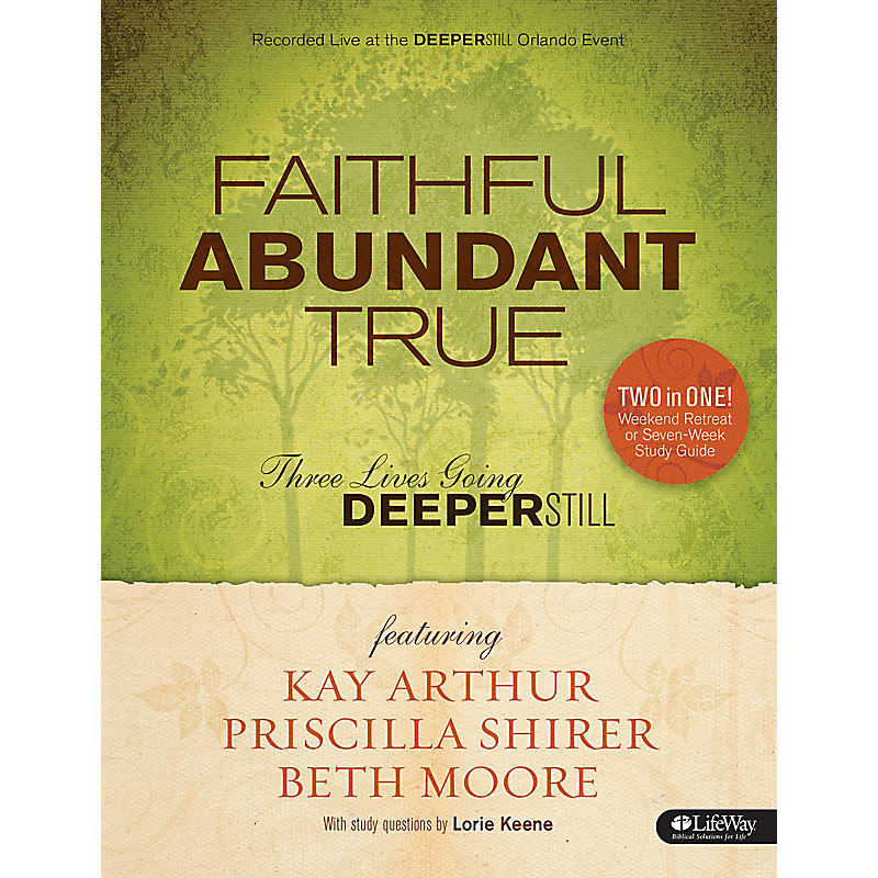 Faithful, Abundant, True - Leader Kit