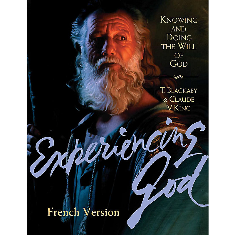 Experiencing God - Member Book French Version