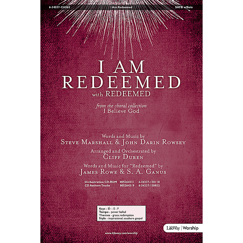 I Am Redeemed - Anthem - LifeWay