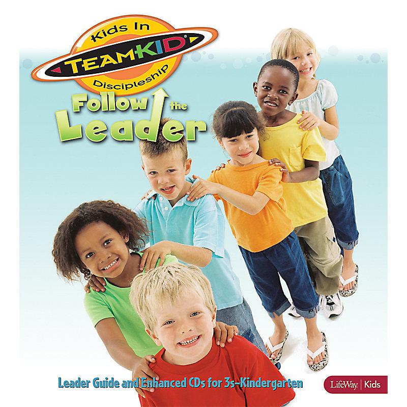 TeamKID: Follow the Leader - Leader Guide and Enhanced CD (3s–Kindergarten)