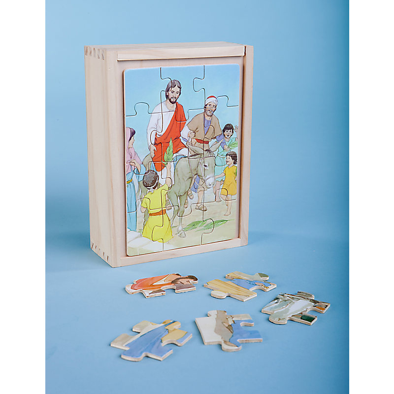 Wooden Box Puzzles: Easter (Set of 4)