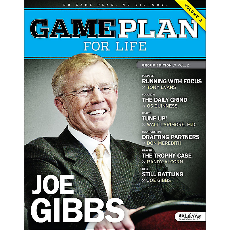 Game Plan for Life Volume 2 - Bible Study Book