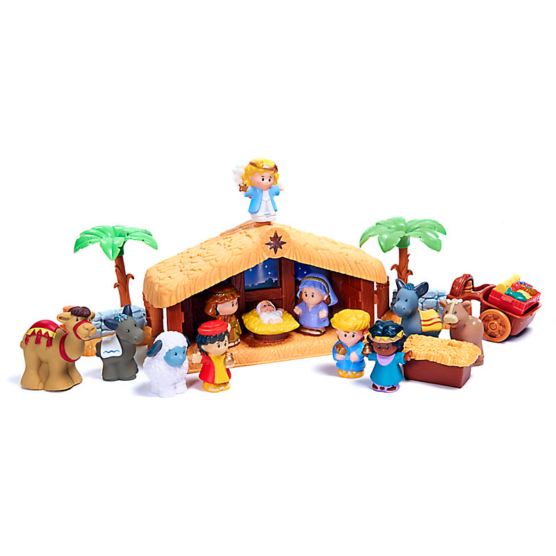 Fisher Price S Little People The Christmas Story