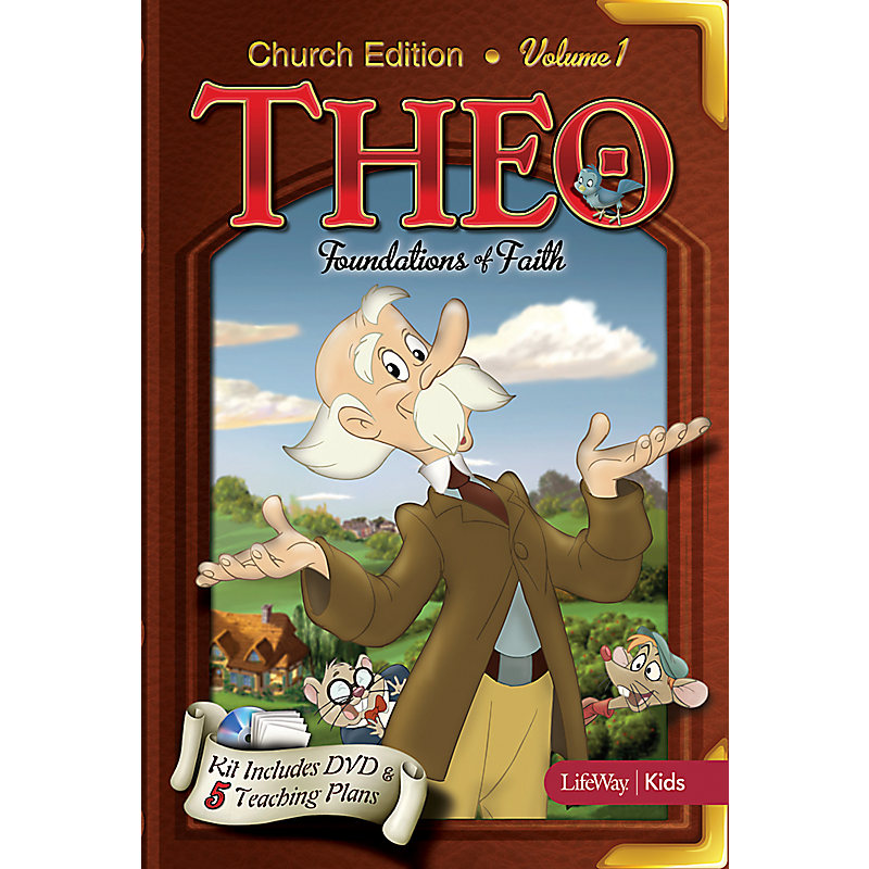 THEO Church Edition: Foundations of Faith DVD Rom