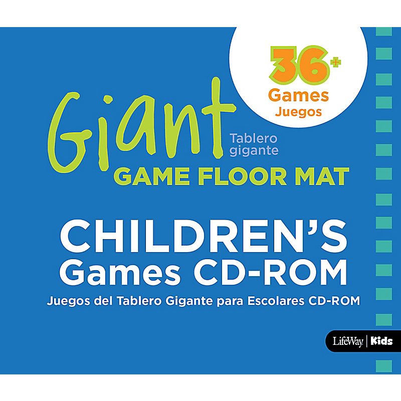 Giant Game Floor Mat Children's Games CD-ROM