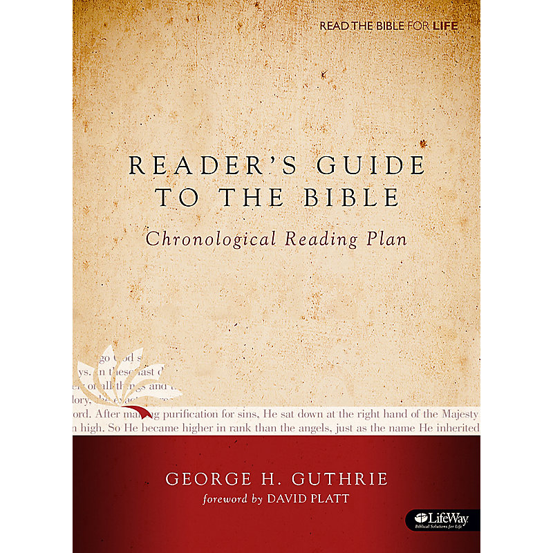 Reader's Guide to the Bible