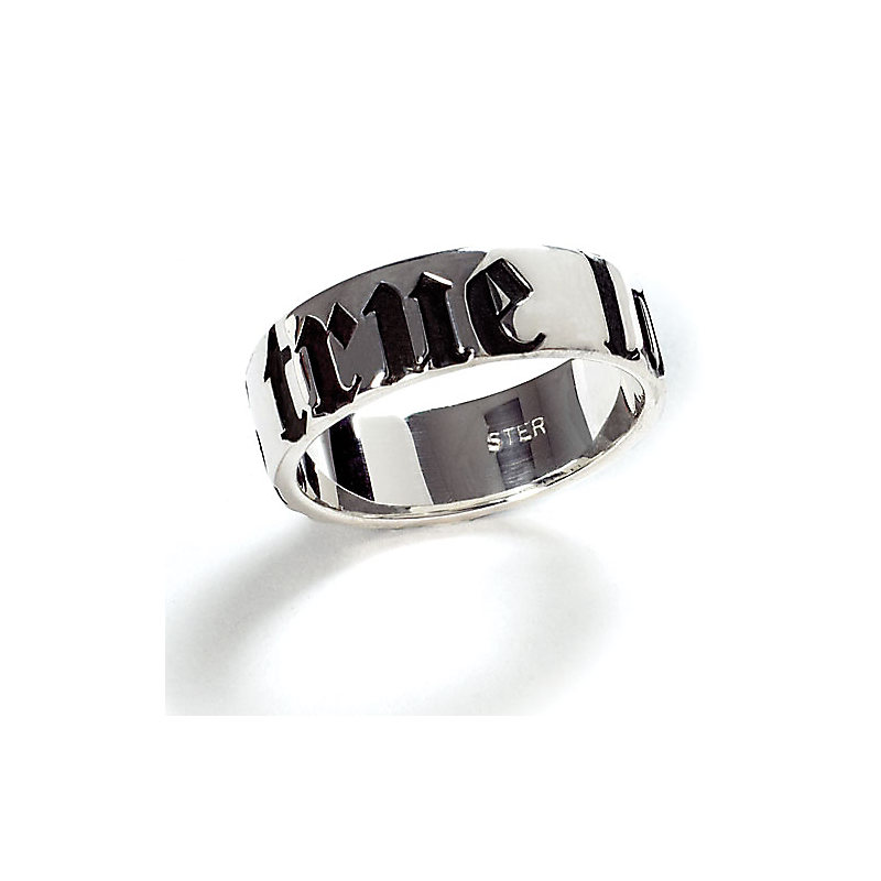 True Love Waits Jewelry: Boys' Sterling Silver Ring - Size 10